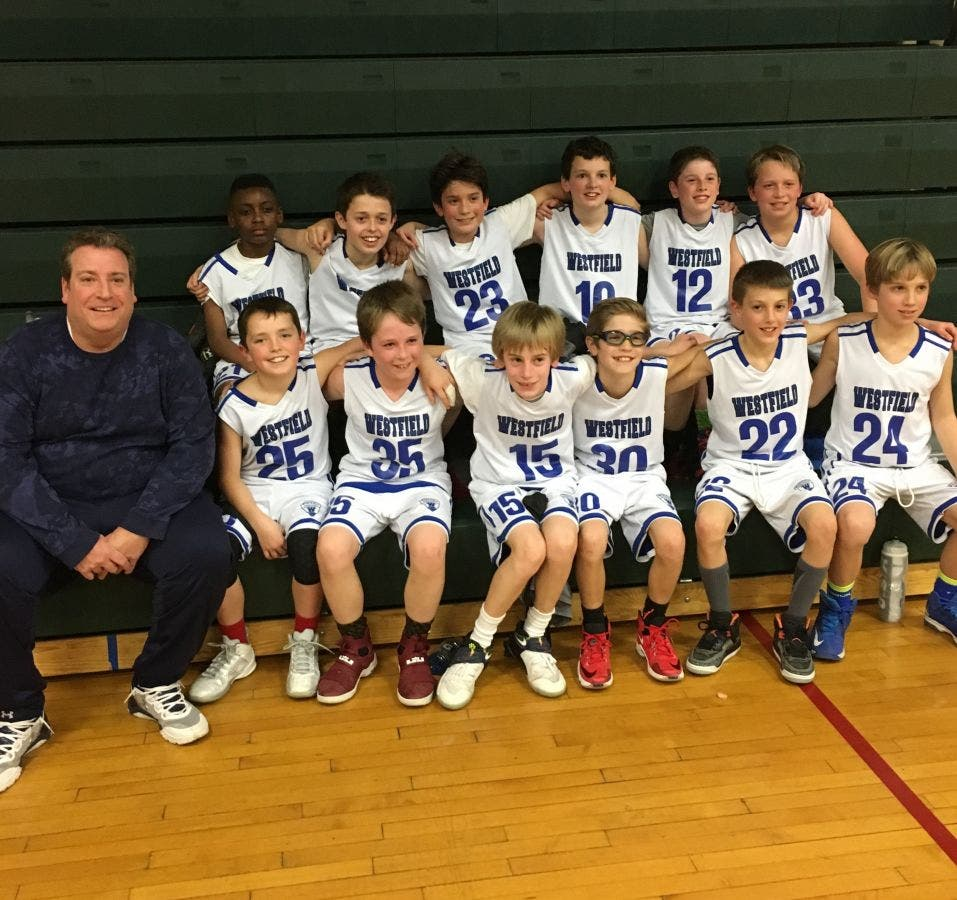 Westfield 5th Grade Boys Travel Basketball Team C