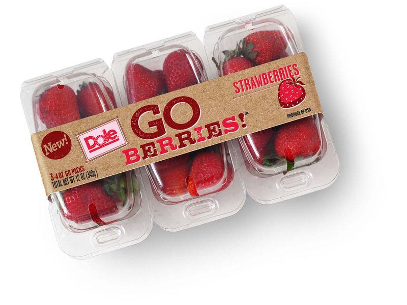 New DOLE Go Berries In Southern California