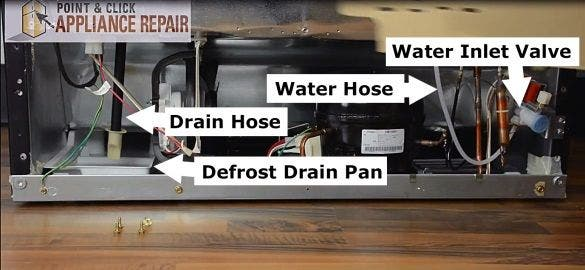 Refrigerator Water Line And Drain Hose Leaks Prevention Tips