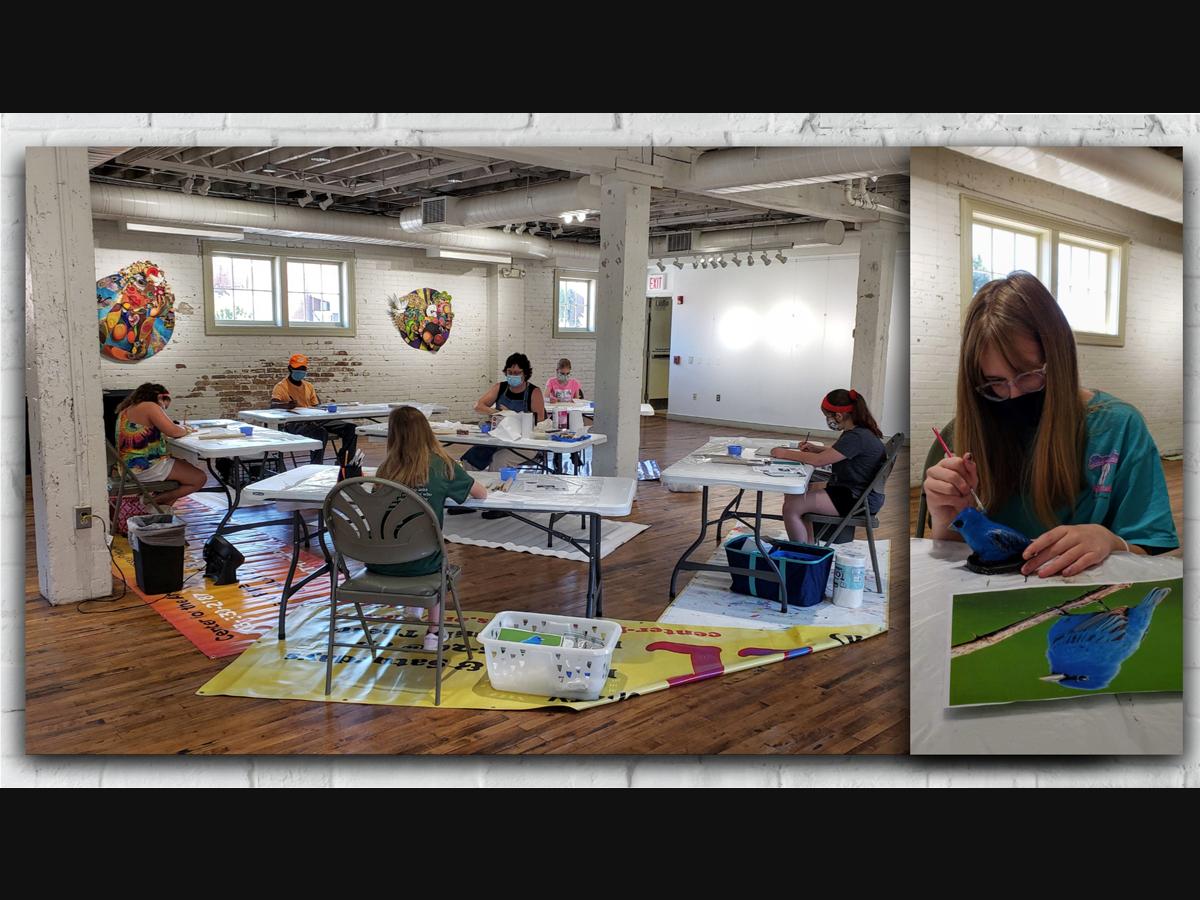 Studio Art Class offered by ARTfactory