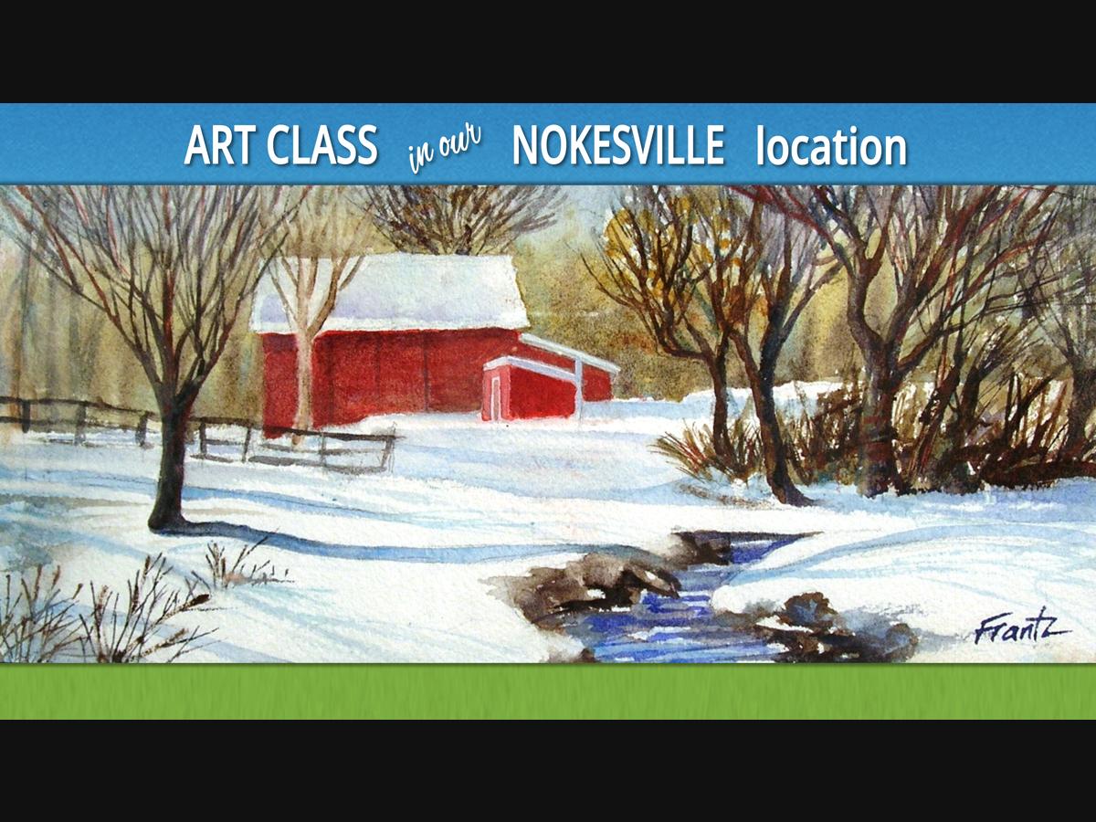 Watercolor Basics and Beyond at Windy Knoll Farm