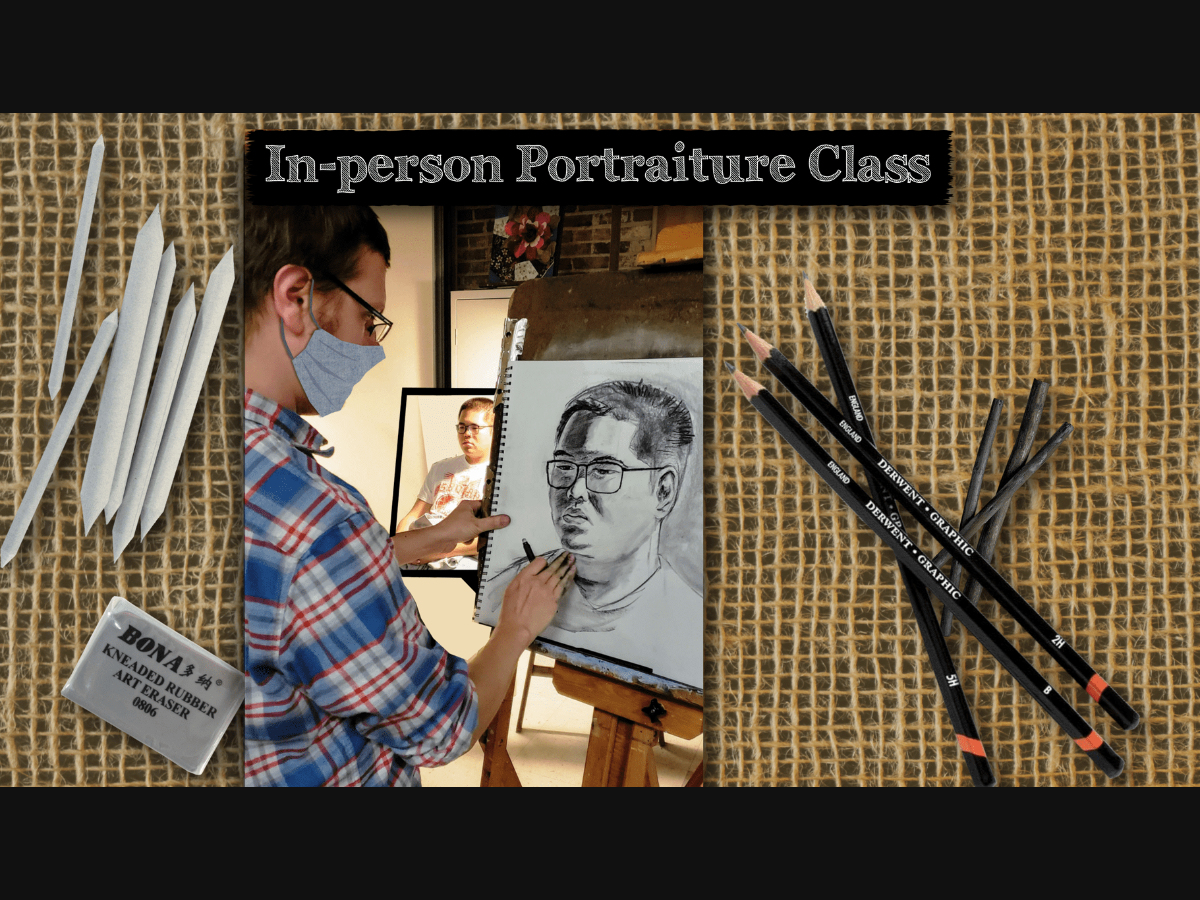 Drawing Faces class offered by ARTfactory