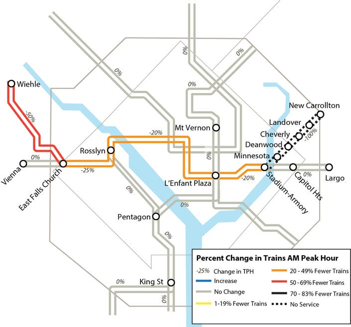 Reduced Silver Line Metro Service Begins Tuesday (ICYMI ... on mbta silver line map, wmata silver line map, washington silver line map, los angeles metro silver line map, metrorail silver line map, boston silver line map, metro silver line route map,