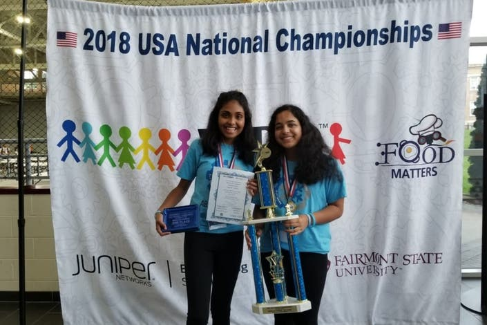 All-Girls Robotics Team From Fairfax County Goes To World Finals