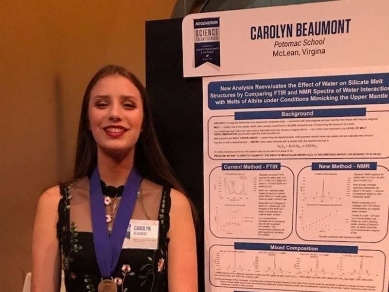 Potomac School Student Places Fifth In National Science Contest
