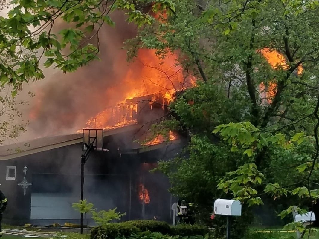 GoFundMe Started To Aid Wheaton Family Who Lost Home In FIre