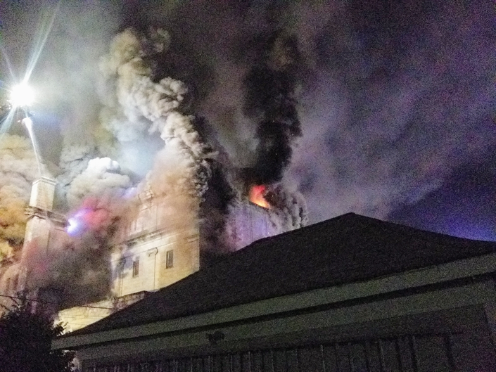 Aurora Masonic Temple Demolition Ends, Fire Investigation Ongoing
