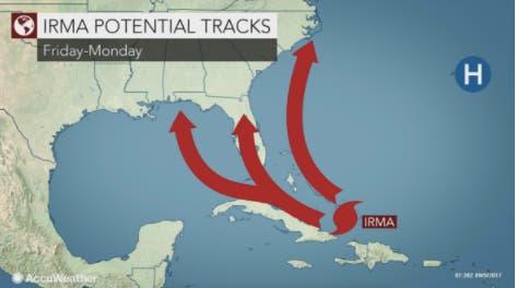 Will hurricane irma hit new york