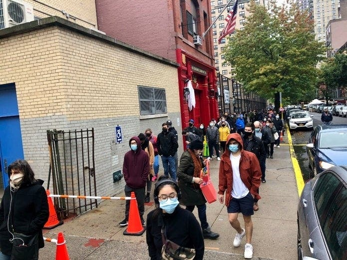 This Early Voting Site Is The Most Overloaded In NYC   Patch PM