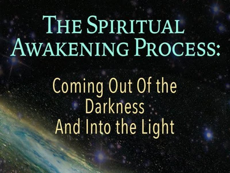 The Spiritual Awakening Process from Darkness to Light book