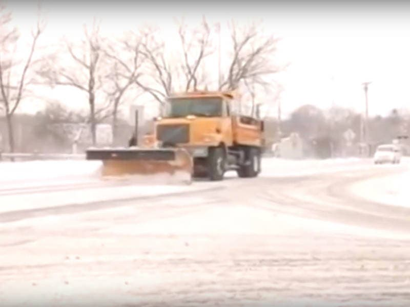 lake county dot releases plow routes  safety tips