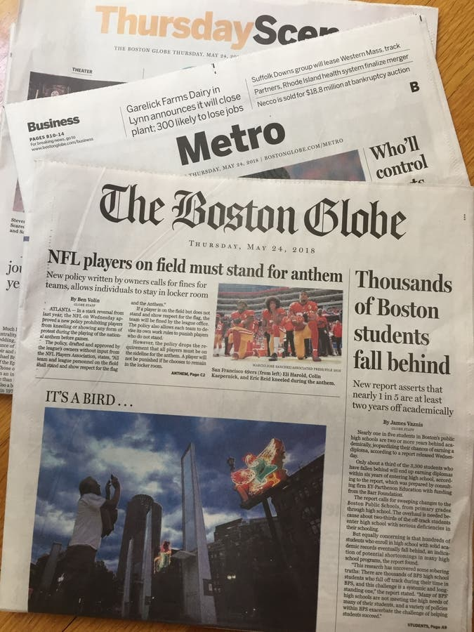 boston globe classifieds jobs