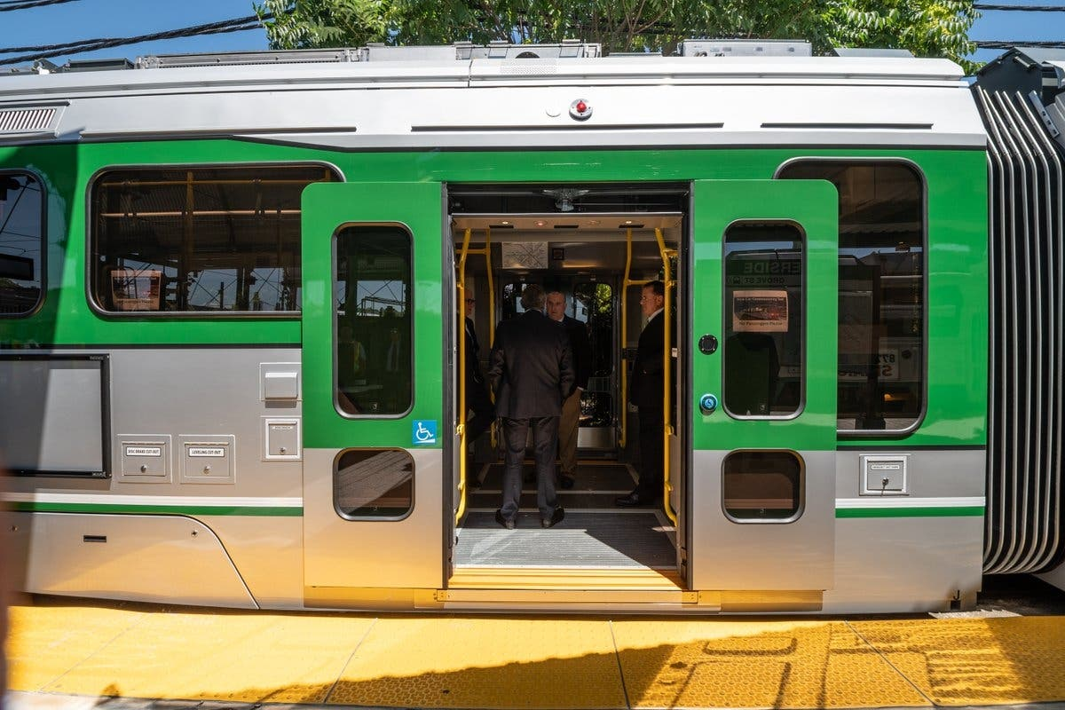 New Green Line Cars To Hit The Tracks In September: MBTA