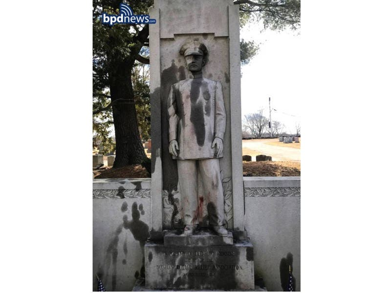 Several Monuments At Mount Hope Cemetery Vandalized: Police