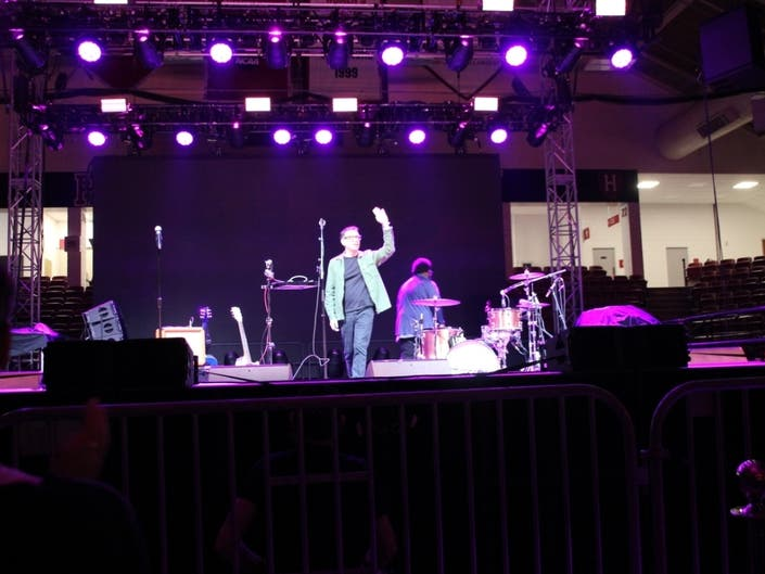 Fred Armisen Ends Comedy Tour At Boston Calling