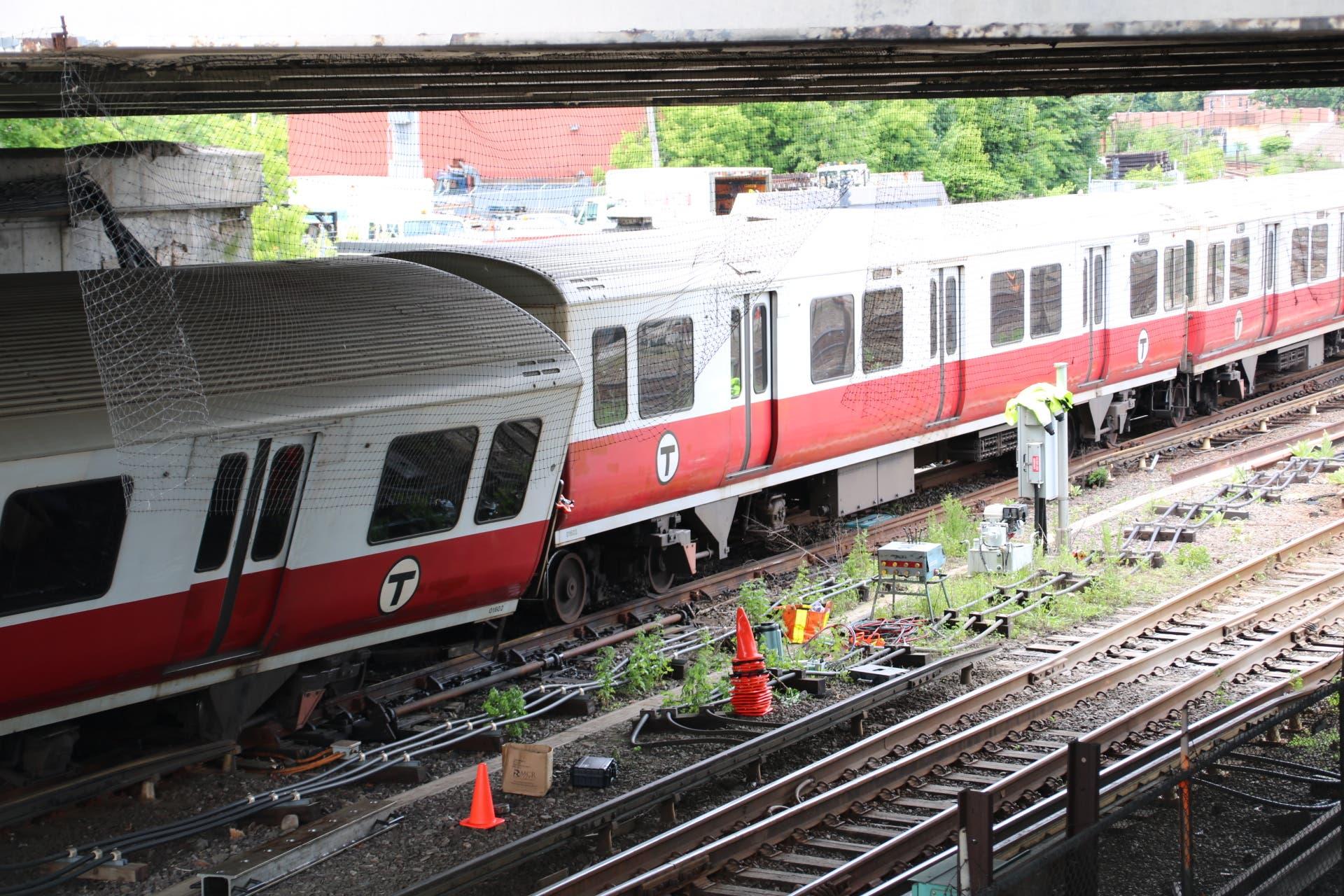 After 4 Train Derailments In 2019, System Still 'Safe:' MBTA