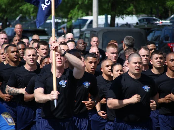 Boston Police Recruits To Graduate Wednesday