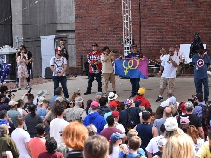 4 Boston Residents Arrested At Boston Straight Pride Parade
