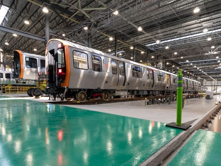 Now Arriving: Second Set Of New Orange Line Train Cars