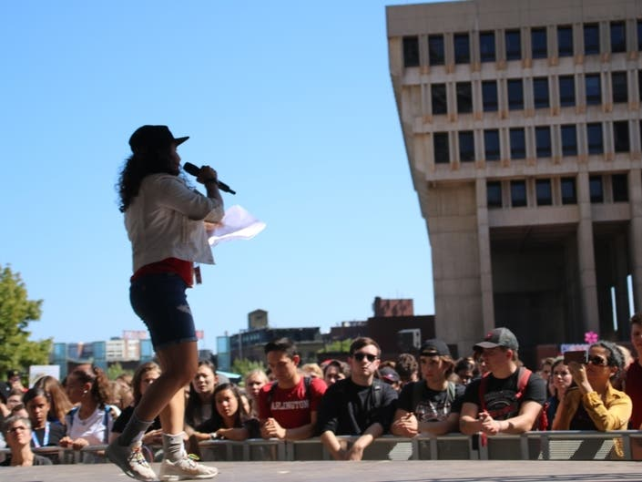 Thousands Attend Boston Climate Rally: Photos