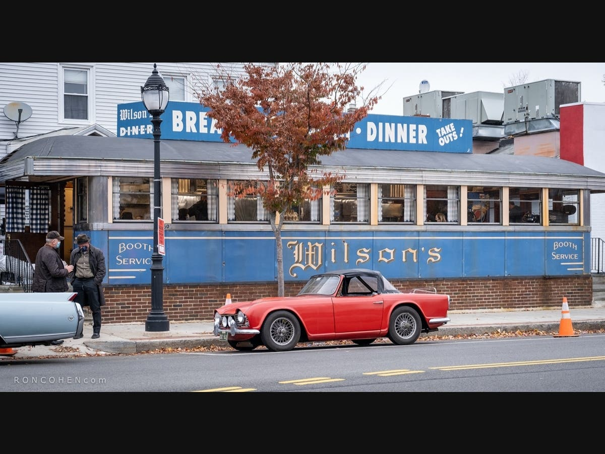 HBO Show On Chef Julia Child Films At Waltham's Wilson's Diner