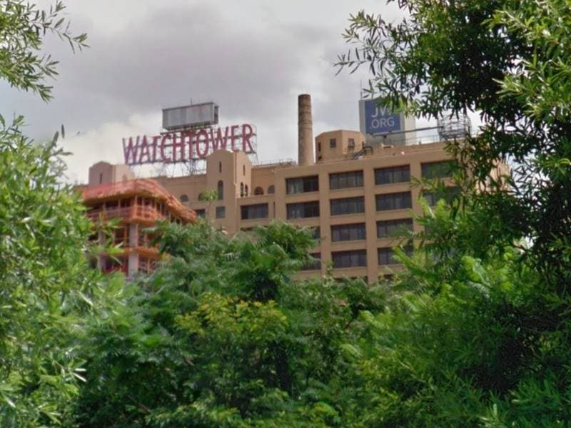 Brooklyn's Watchtower Sign Taken Down After 70 Years: Report