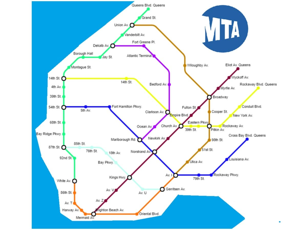 Fort Greene Subway Map.Reddit Wants Subway Sandwiches To Be Subway Stations In Brooklyn