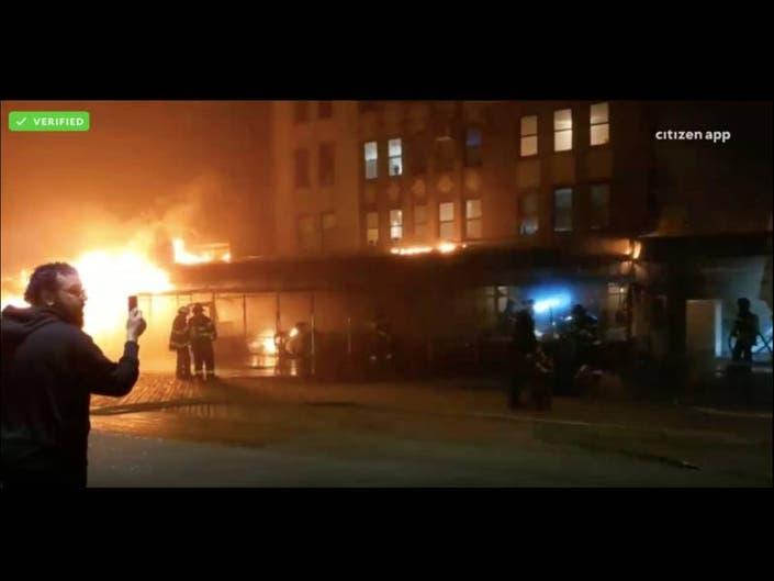 Brighton Beach Boardwalk Ravaged By Massive Fire, FDNY Says