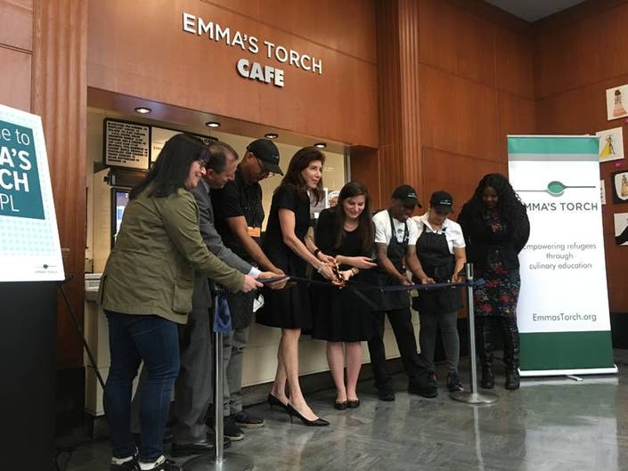 Emmas Torch Cafe Launches At Brooklyn Public Library