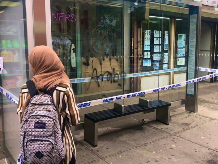 Kill Arabs Graffiti Scrawled On Brooklyn Bus Stop, Rep Says