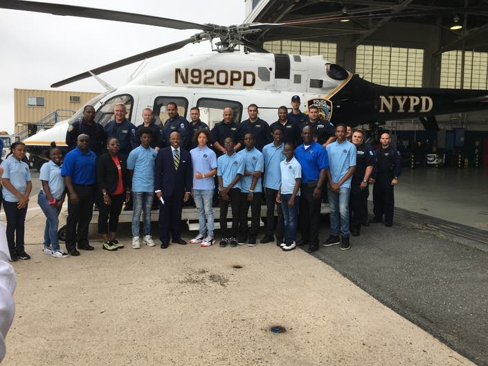 Bed-Stuy Cops' Pilot Program Teaches Kids To Fly | Bed-Stuy, NY Patch