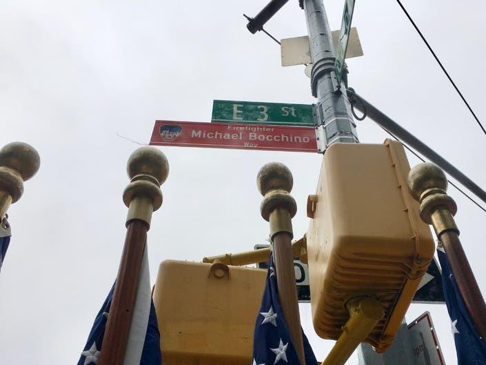 Kensington Block Named For Firefighter Killed On 9/11