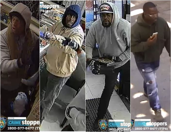 Robbers Grab $60K In Cash, Loot From Stores Across Brooklyn: Cops