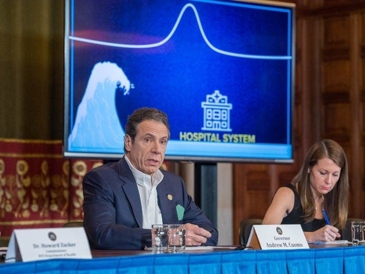 Cuomo's Approval Rating Soars Amid Coronavirus Pandemic: Poll