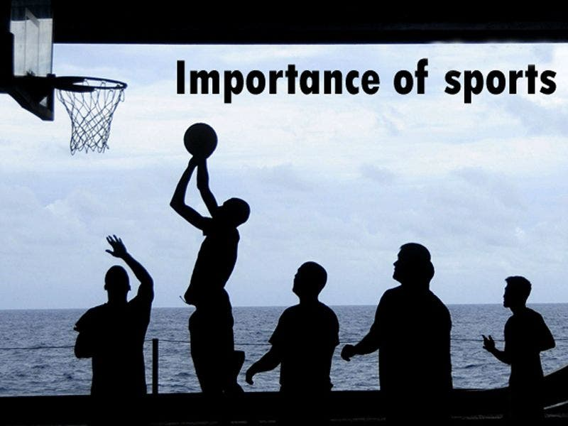 essay on importance of games and sports with headings