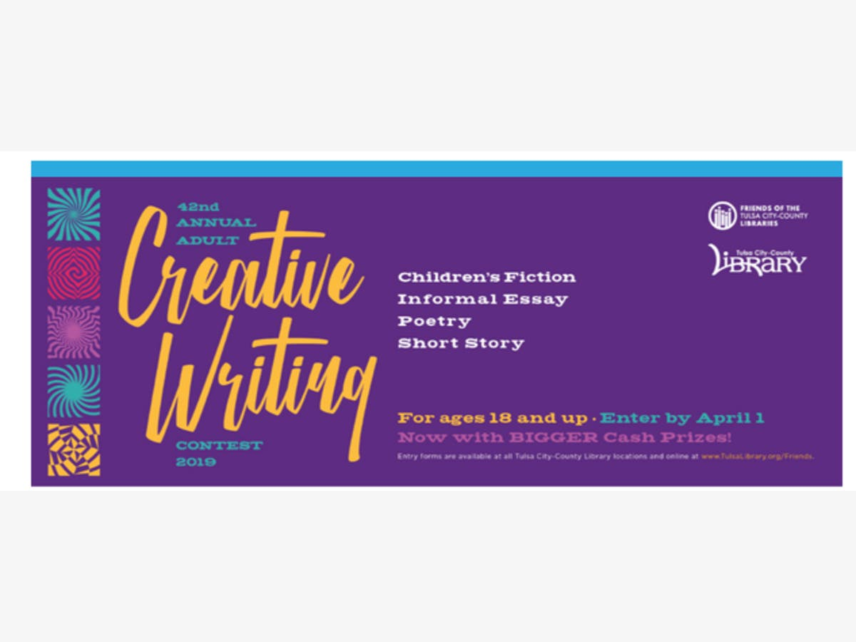 Adult Creative Writing Contest | Tulsa, OK Patch