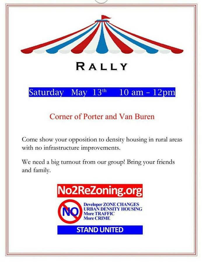 Rally this Saturday - Save our rural communities - Riverside