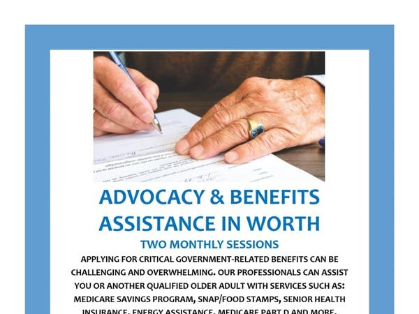 May 28 | Advocacy & Benefits Assistance in Worth Township