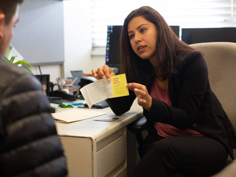 UC immigration lawyer comforts and fights
