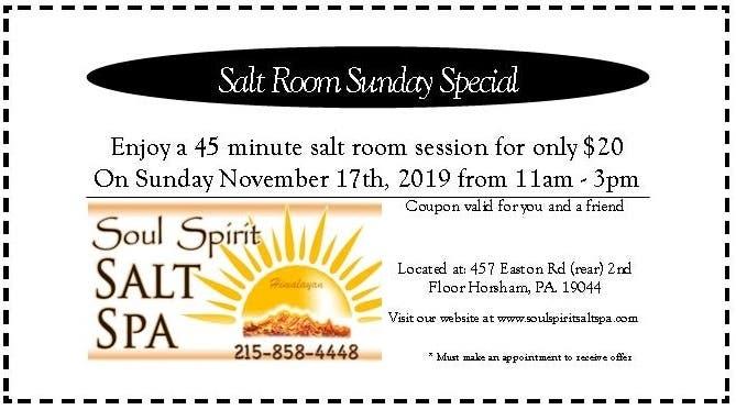 Nov 17   Salt Room Sunday Special   Hatboro-Horsham, PA - Patch.com
