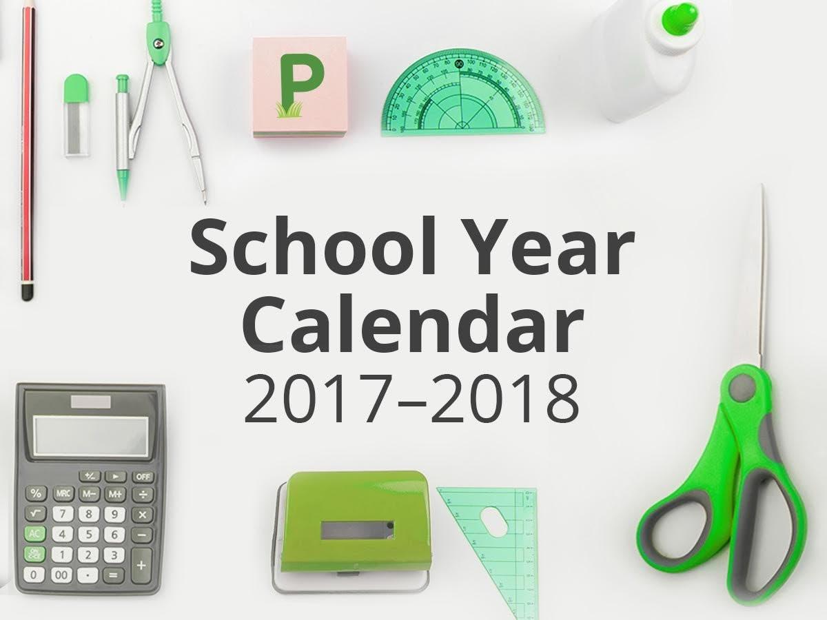 Poway School District Calendar 2019 Poway School Calendar 2017 18: First Day Of School, Vacations