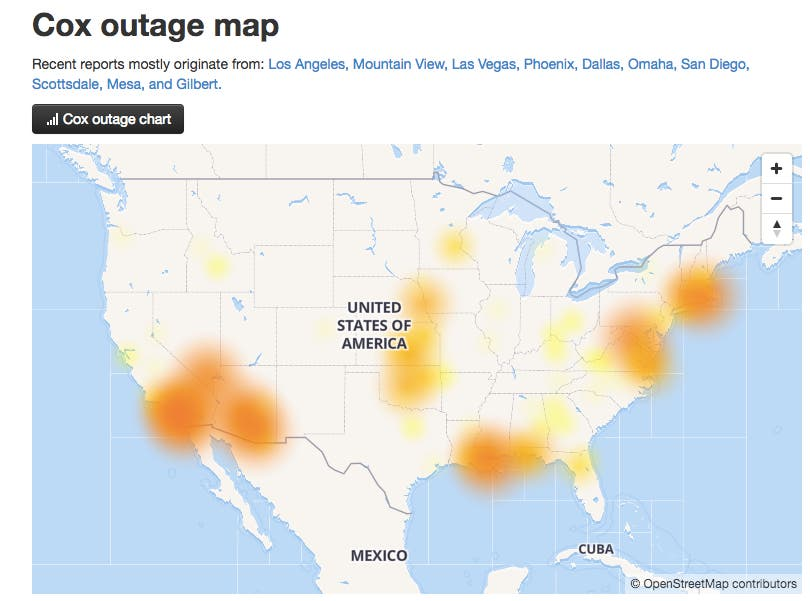Cox Communications: There Was No Widespread Cable Outage | Atlanta