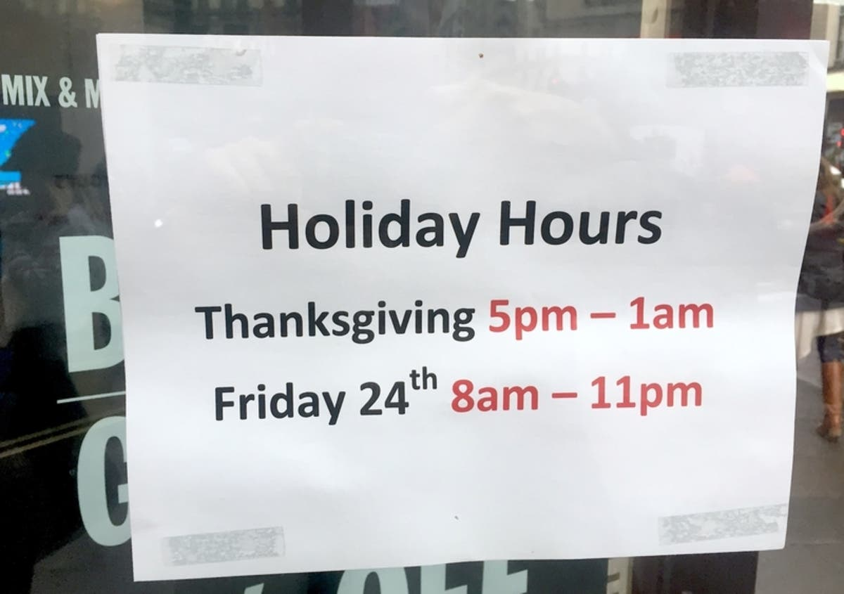 Thanksgiving Grocery Stores: Open And Closed — Publix, BJ\'s, More ...