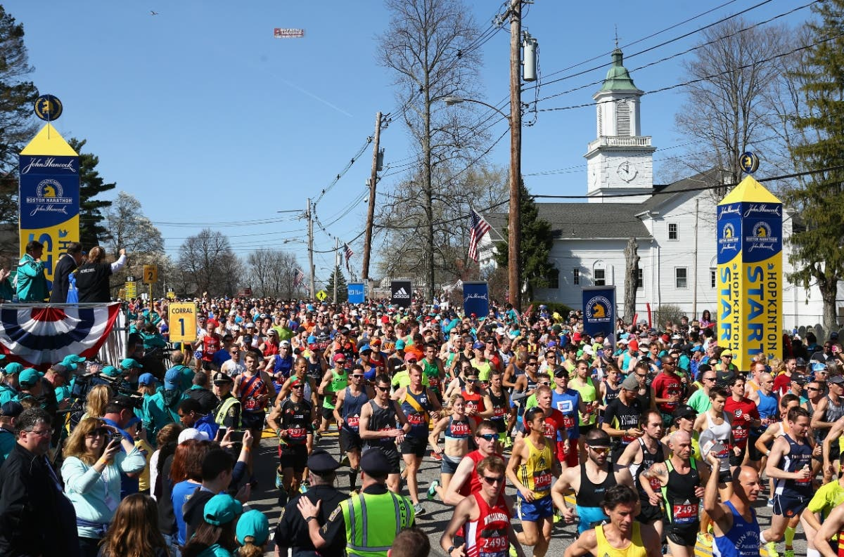 2 Pleasanton Runners In 2019 Boston Marathon   Pleasanton, CA Patch