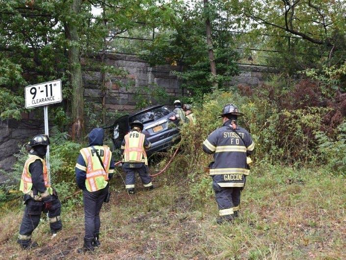 Nassau Bridge Crash Leaves Driver Critically Hurt: Officials