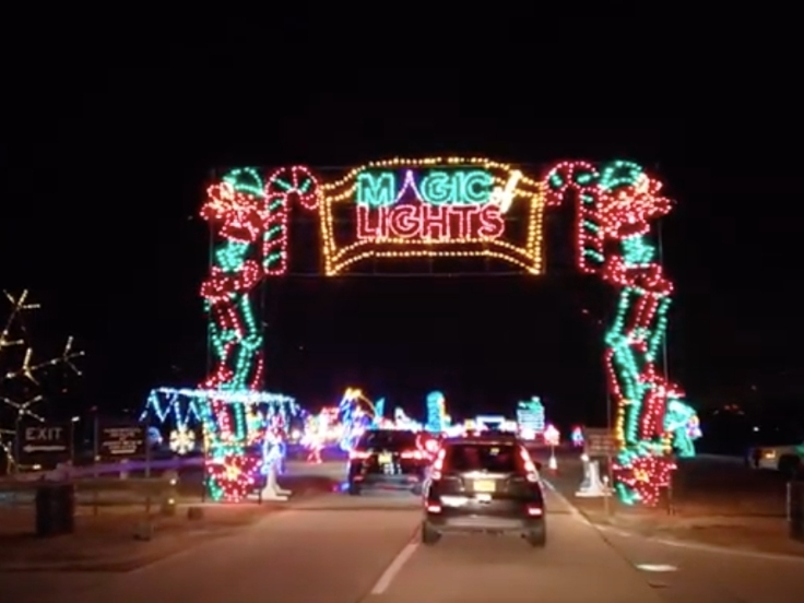 Magic Of Lights' Christmas Display