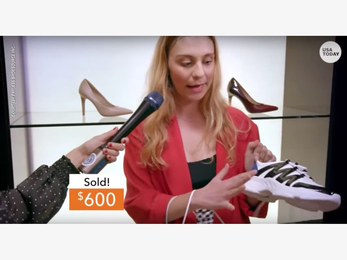 50f98214755 Watch: Payless Fools Influencers With Designer Shoe Pop-Up | Santa ...