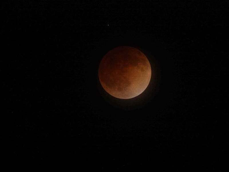 blood moon eclipse in los angeles - photo #7