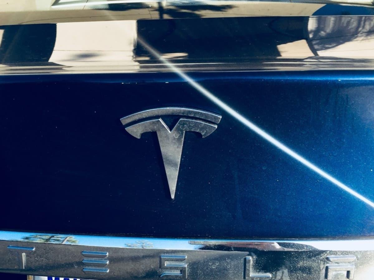 Tesla Unveils New Model Y At South Bay Design Studio