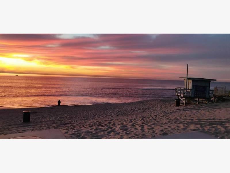 Winter Sunset At Zuma Beach: Malibu Photo Of The Week